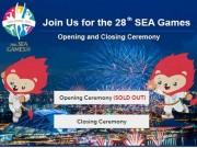 Thể thao - Vé khai mạc SEA Games 28 được bán hết sạch