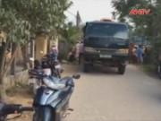 Video An ninh - Va chạm với xe chở đất, nữ sinh lớp 12 bị cán tử vong