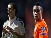Bóng đá - M.U sẽ hồi sinh bằng tam tấu Rooney - Bale - Depay