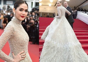 Mỹ nhân  trăm tỷ  đẹp như thiên thần tại Cannes