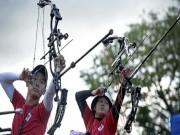 Thể thao - HIẾM THẤY: 2 mẹ con sát cánh tại SEA Games