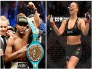 Thể thao - Rousey muốn đánh rồi... hẹn hò Mayweather