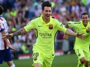 Video bàn thắng - Messi sút bóng tinh tế giúp Barca vô địch top 5 V37 Liga