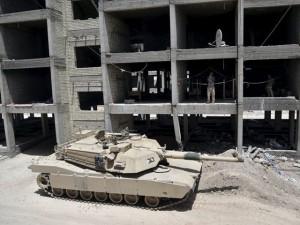 Tin tức trong ngày - IS bị xe tăng chặn đứng ở ngoại ô Ramadi