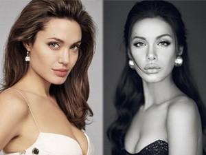Ngỡ ngàng ngắm Angelina Jolie phiên bản Việt