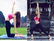 Bạn trẻ - Cuộc sống - Hot girl bị ném đá vì mặc hở hang tập Yoga ở chùa