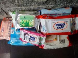 Sức khỏe đời sống - Đã có câu trả lời vụ khăn ướt nhiễm chất cấm