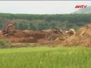 Video An ninh - Sông suối, ruộng vườn bị xới tung để tìm vàng