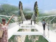 Điểm du lịch - Cầu bằng kính dài và cao nhất thế giới ở Trung Quốc