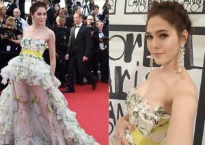 """""""Mỹ nhân triệu đô"""" gợi cảm tại Cannes"""