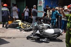 Tin tức Việt Nam - Xe ben đâm sập nhà dân: Ở nhà cũng bị xe tông chết