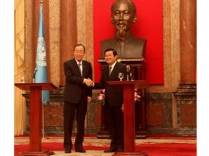 Tin tức Việt Nam - Đề nghị Liên Hiệp Quốc nắm sát tình hình biển Đông