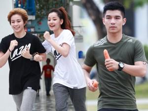 Phim - Chi Pu thân mật với Gil Lê trước mặt tình cũ