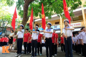 Tin tức Việt Nam - Hà Nội chấn chỉnh hát Quốc ca trong nghi lễ chào cờ