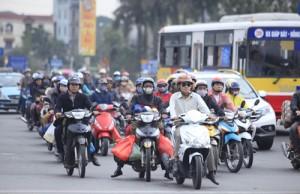 Tin tức Việt Nam - Xe máy phải đóng phí kiểm định khí thải mới được lưu hành?