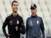 """Bóng đá Tây Ban Nha - Perez nổi giận với Ronaldo vì """"dám"""" ủng hộ Ancelotti"""