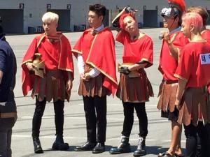 Ca nhạc - MTV - Fan háo hức với hình ảnh đầu tiên của Big Bang ở Running Man