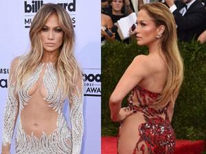 Thời trang - Jennifer Lopez: Nữ hoàng xuyên thấu của làng nhạc thế giới