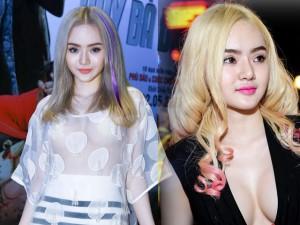 """Thời trang bốn mùa - Kiểu mặc gây """"ồn ào"""" của em gái Angela Phương Trinh"""