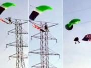 Thể thao - Kinh hoàng: Nhảy dù, rơi tự do vì điện cao thế