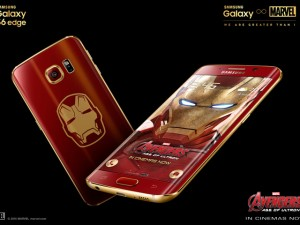 Điện thoại - Galaxy S6 Edge Iron Man chính thức ra mắt