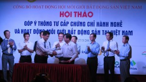 Chung cư-Nhà đất-Bất động sản - Chính thức ra mắt Hội Môi giới BĐS Việt Nam