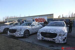 Ô tô - Xe máy - Mercedes-Benz E-Class trên đường thử