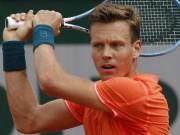 Tennis - Roland Garros ngày 4: Tsonga và Berdych có vé đi tiếp