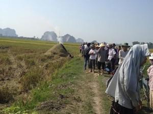 Tin tức Việt Nam - Phát hiện một thi thể cháy sém trong đống rơm