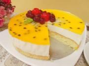 Ẩm thực - Cách làm bánh mousse chanh leo thơm ngon, dịu mát
