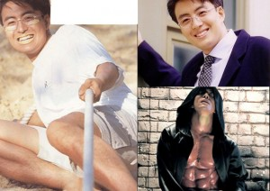 """Phim - Loạt ảnh """"nóng"""" của Bae Yong Joon được """"khai quật"""""""
