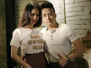 Cao Thái Sơn tái xuất bên hot girl sau tin đồn sinh con