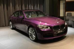 Xe xịn - BMW 760Li bản đặc biệt màu tím mới