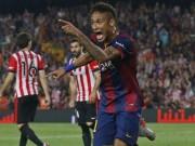"""Bóng đá - Neymar diễn kĩ thuật khiến đối thủ """"sôi máu"""""""