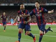 Lập đại công ở CK cúp Nhà Vua, Messi được vinh danh