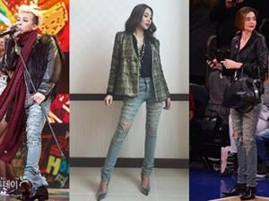 Thời trang - Thanh Hằng đụng hàng hiệu với G-Dragon, Miranda Kerr