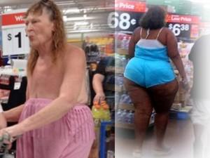 """Thời trang bốn mùa - Đau tim với những """"thảm họa thời trang"""" trong siêu thị"""