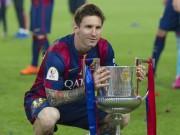 Bóng đá - Barca giành cúp nhà Vua: Messi là riêng, là duy nhất