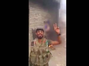 Tin tức trong ngày - Video: Dân quân Iraq thiêu cháy chiến binh IS