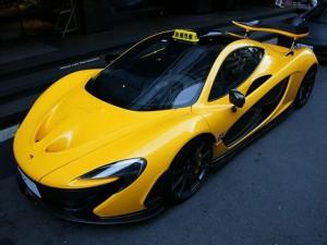 Ô tô - Xe máy - Siêu xe triệu đô McLaren P1 làm 'taxi'