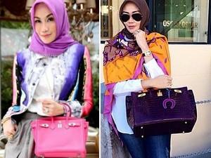 Túi - bóp -Thắt lưng - Kho túi tiền tỷ của quý cô đạo Hồi mê hàng hiệu