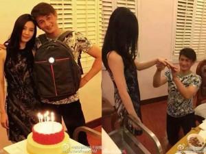 Phim - Vừa được cầu hôn, Lưu Thi Thi đã dính tin đồn mang thai