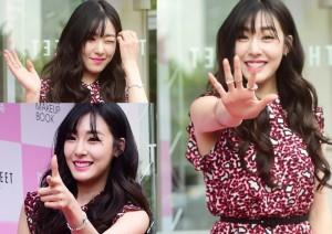 Ca nhạc - MTV - Tiffany (SNSD) rạng rỡ sau khi chia tay Nichkhun