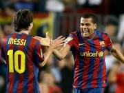 Cup C1 - Champions League - Barca: Messi muốn Alves ở lại, Alba gia hạn tới 2020