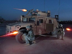 Thế giới - Thiết giáp Mỹ trở thành nỗi khiếp đảm trong tay IS