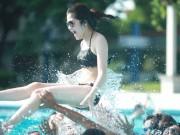 Bạn trẻ - Cuộc sống - Teen Hà Nội táo bạo mặc bikini chụp ảnh kỷ yếu