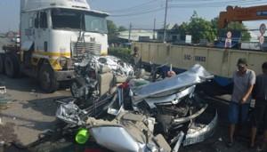 """Tin tức trong ngày - TNGT 5 người chết: Phụ xe 15 tuổi điều khiển """"hung thần""""?"""
