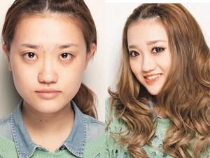 Làm đẹp - Lật tẩy nhan sắc thật của các cô gái xinh đẹp nước Nhật