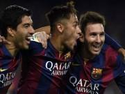 Cup C1 - Champions League - Tam tấu MSN chưa hoàn hảo, là yếu huyệt của Barca