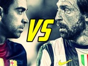 """Cup C1 - Champions League - Xavi & Pirlo: Duyên nợ của hai """"bộ óc"""" vĩ đại"""